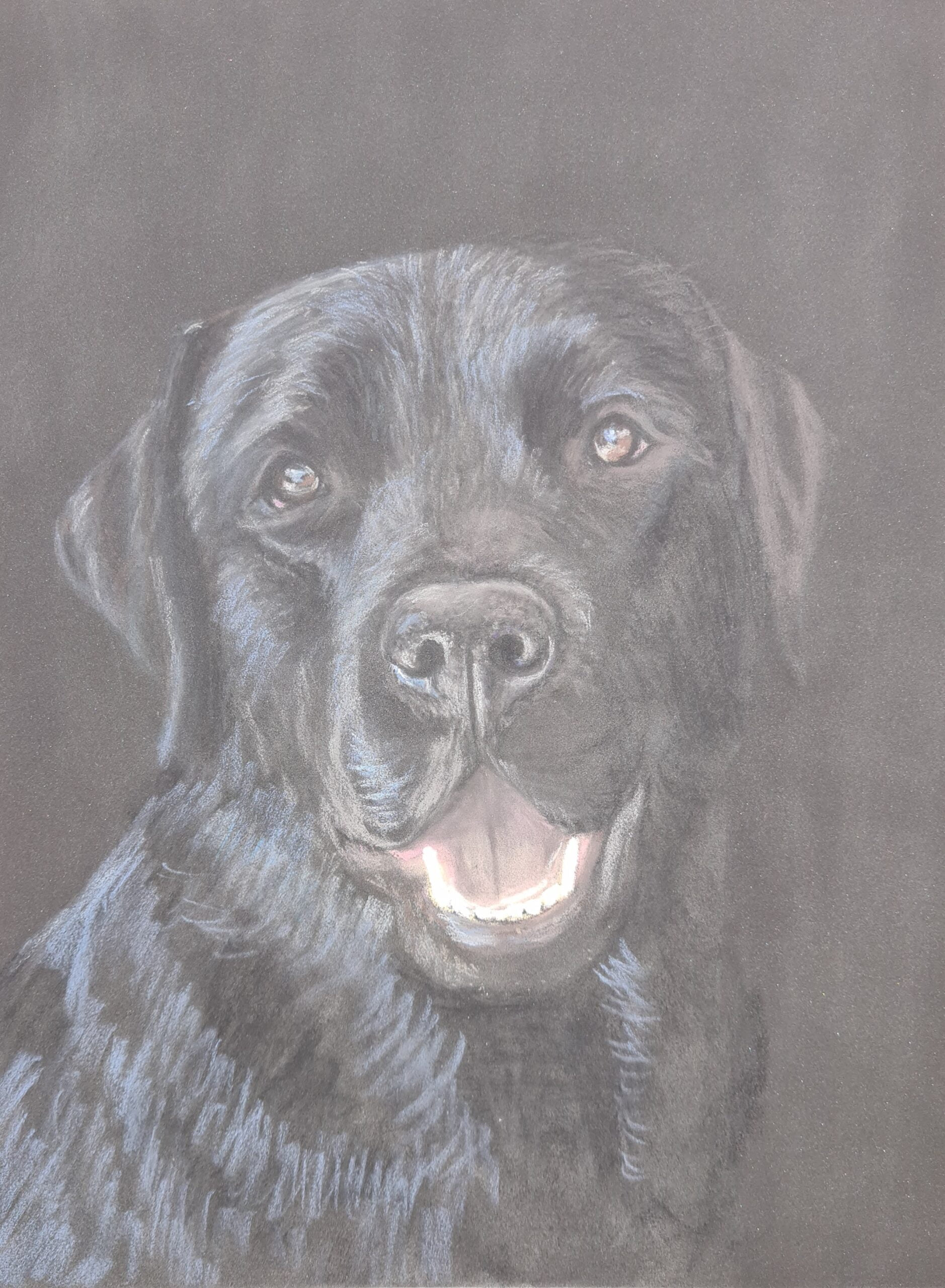 George Pastel Painting