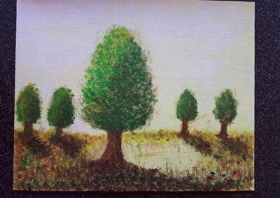 Trees Acrylics