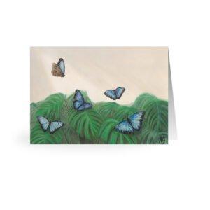 Finn's Garden Postcard 15x21