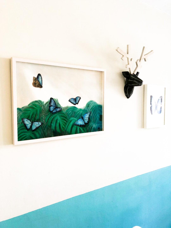 Finn's Garden   Pastel Painting