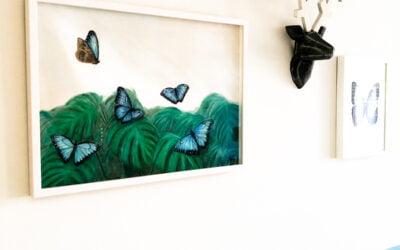Amazing Pastel Painting: Finn's Garden
